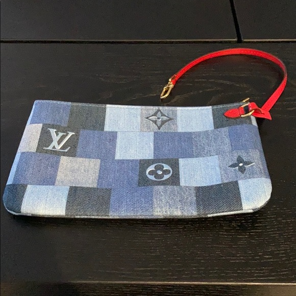 Louis Vuitton Handbags - NWT Louis Vuitton Limited Edition Denim Pochette